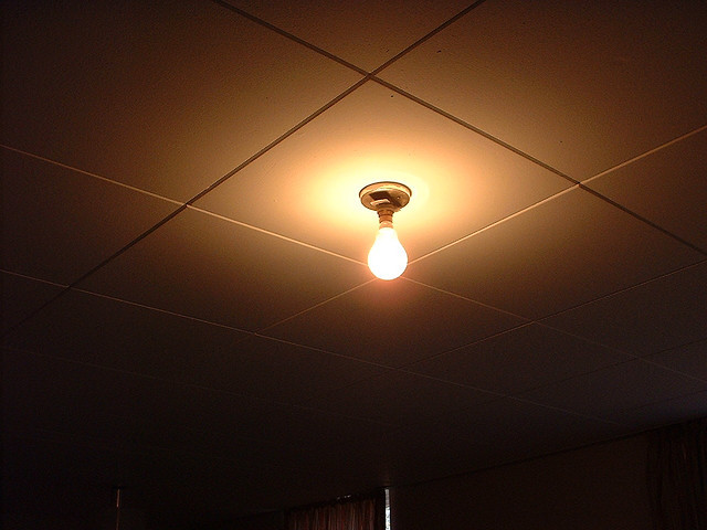 Exposed Light Bulbs