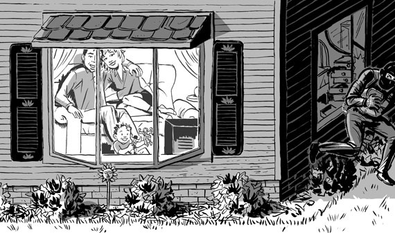 Home Burglaries in Texas
